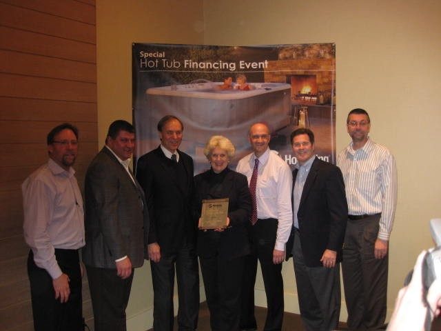 Olympic Hot Tub Company Earns Territory Dealer of the Year from Hot Spring Spas
