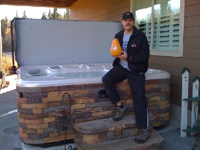 Happy Hot Tub Owner Uses Tub More Often Since Switching to SilkBalance Water Care