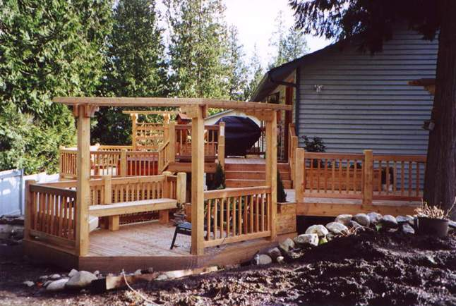 Installing a new deck with a new hot tub? Here are some things to remember!