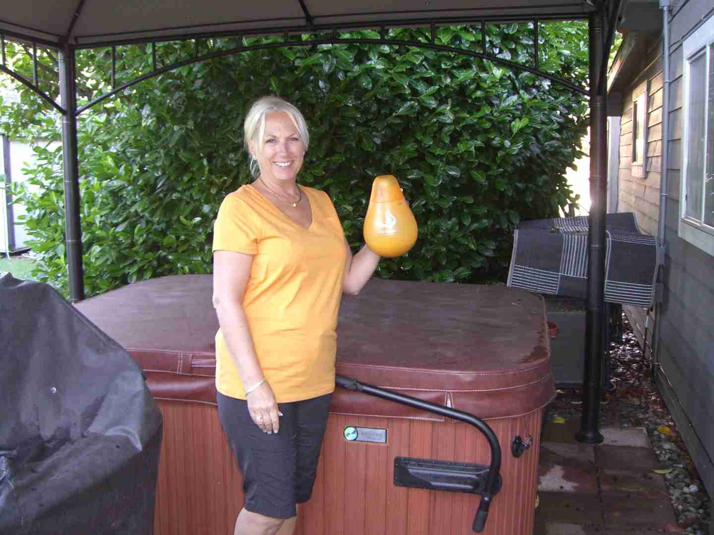 Third Time's A Charm: Owners of Their Third Hot Tub Find It Easiest to Care For