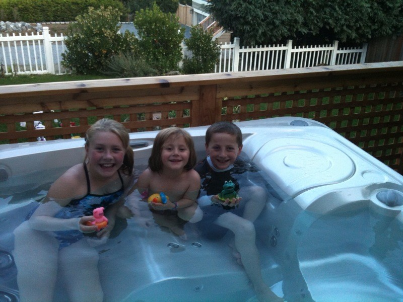 The Whole Family Loves Their New Limelight Hot Tub
