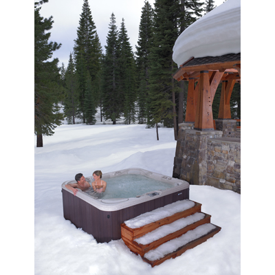 Holiday Stress Getting You Down? Solution: Make Time for Your Hot Tub
