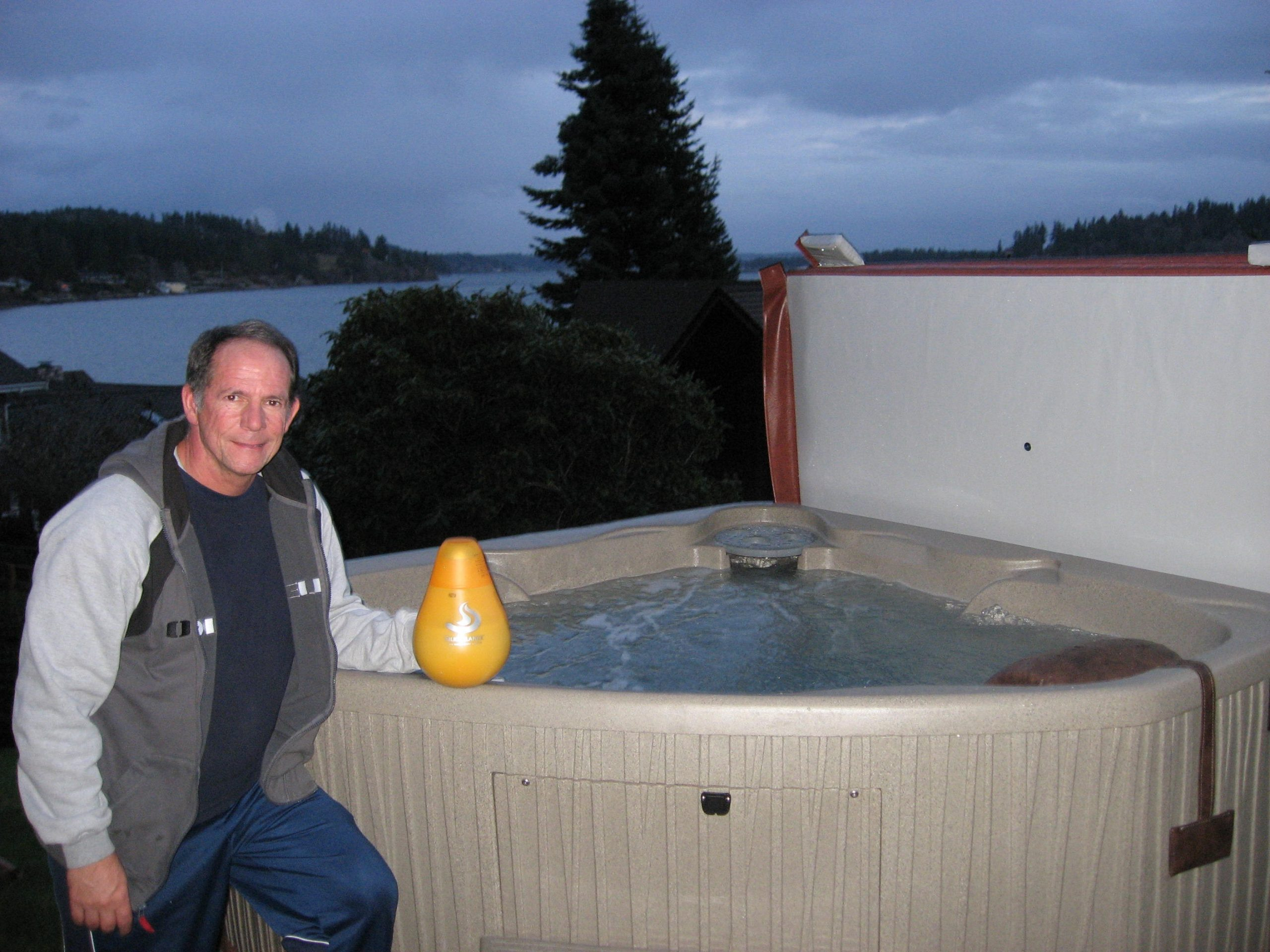 Hot Tub Water Care Has Come a Long Way-SilkBalance is Amazing Says Happy User