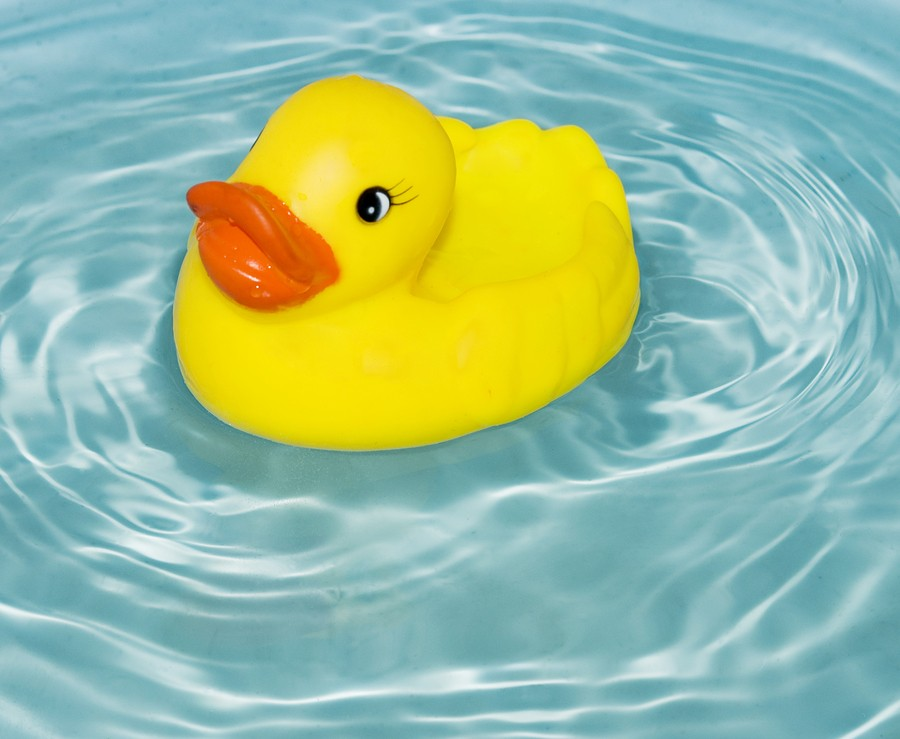 Rub a Dub Hot Tub: Today's National Read in the Tub Day