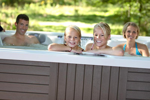 Hot Tub Together to ReBoot Your Family!