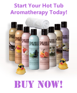 But Spazazz Aromatherapy for your hot tub!