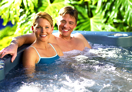 "Want to release your body's ""feel good"" chemicals? You can do it in a hot tub!"