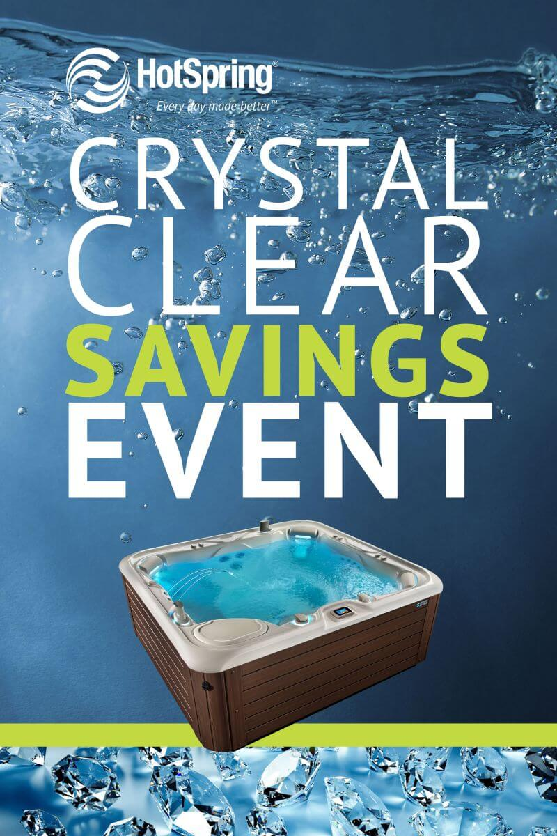 FREE ACE Salt Water Care System with Purchase of New Hot Spring Spa-10 Days ONLY