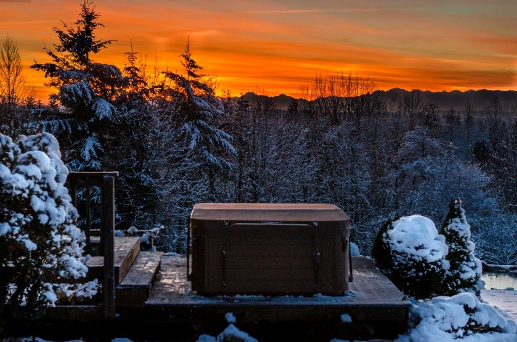 New Hot Spring Spa Jetsetter Christened By Early Snowfall