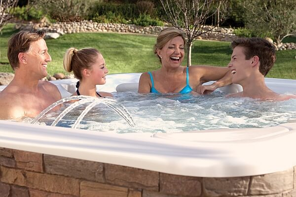 Five ways to make the hot tub your family gathering spot