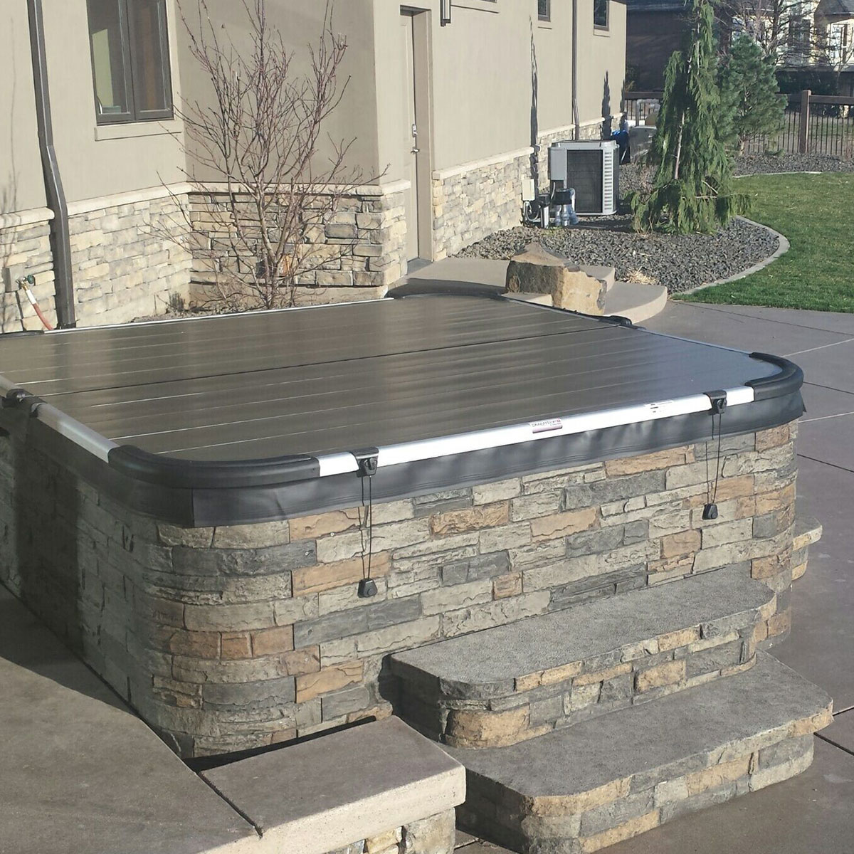 Are you tired of vinyl hot tub covers? Time to step up to Smartop