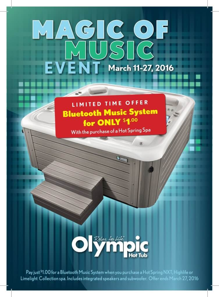 Big News: $1300 Bluetooth® Music System Yours For A Buck Through March 27th