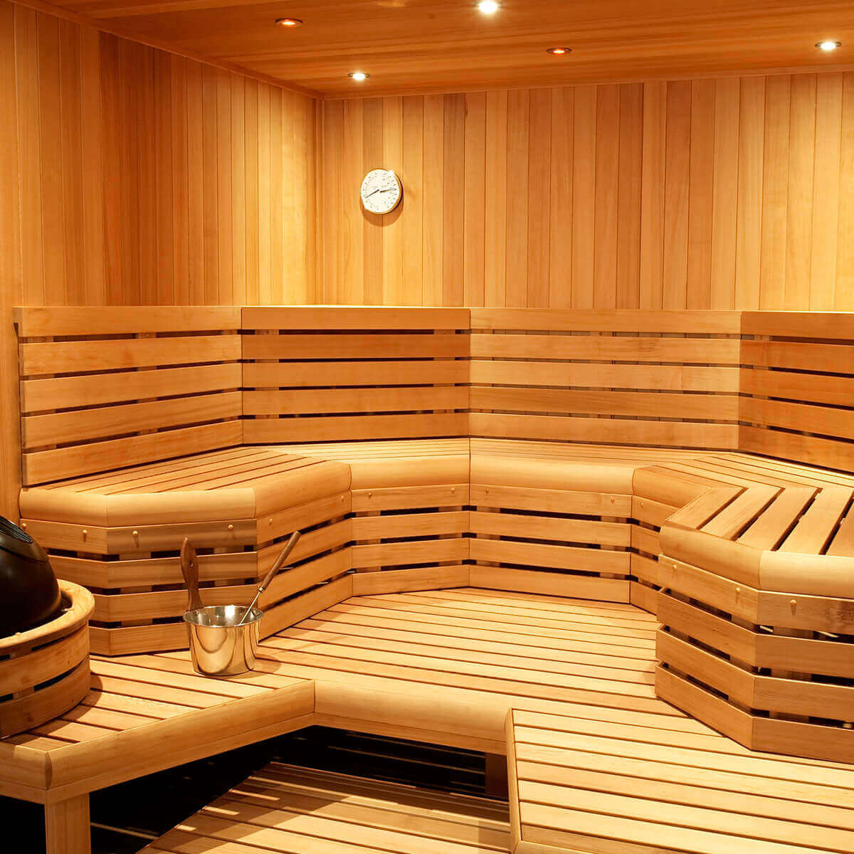 Finnleo Custom Cut Traditional Saunas Olympic Hot Tub