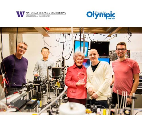 Olympic Hot Tub & UW School of Material Science Develop Water Magnet Technology