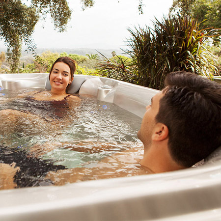 How Much Does a Hot Tub Cost? Family Image