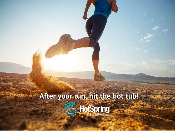 Do you run? Hot tub soaking makes happy feet.