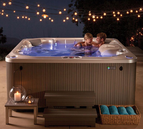 Hot Tub Wellness Family Image