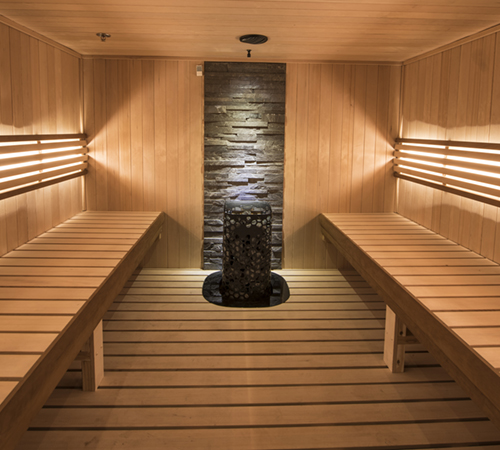 Sauna Wellness Family Image