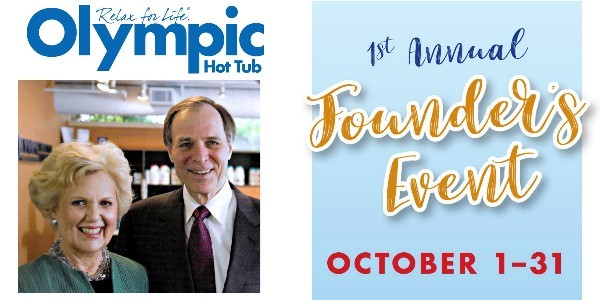 Olympic Hot Tub Inaugurates Annual Founder's Event in October 2017