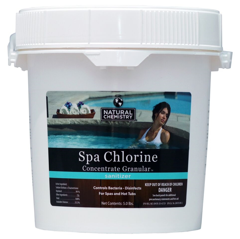 When it comes to hot tubs, all chlorine is not created equal!