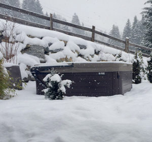 Hot Spring Spas are insulated for better protection.