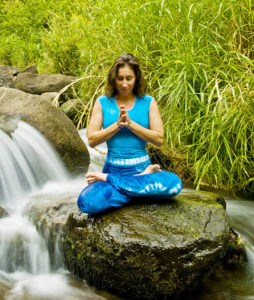 Meditation part of the 24/7 challenge to take 24 minutes per day for your health