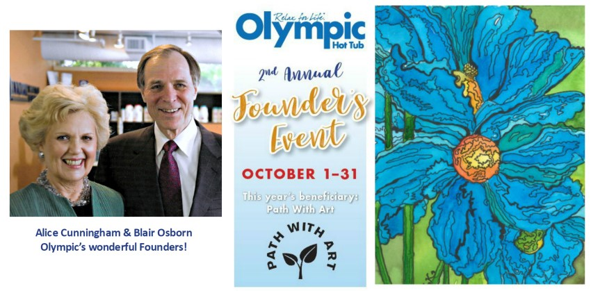 Olympic Hot Tub Honors Its Company Founders with  October 1-31 Fundraising Event