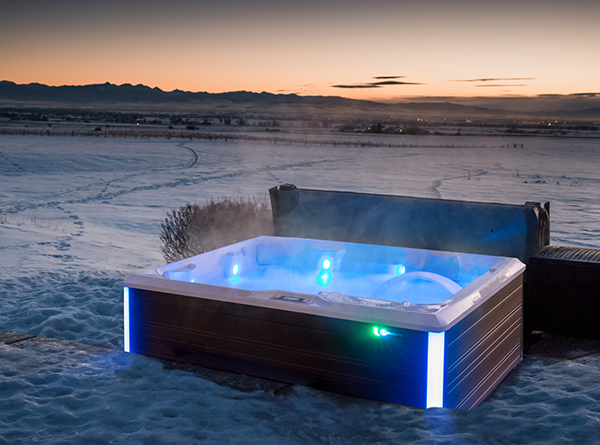 Tips to keep your hot tub happy & healthy this winter