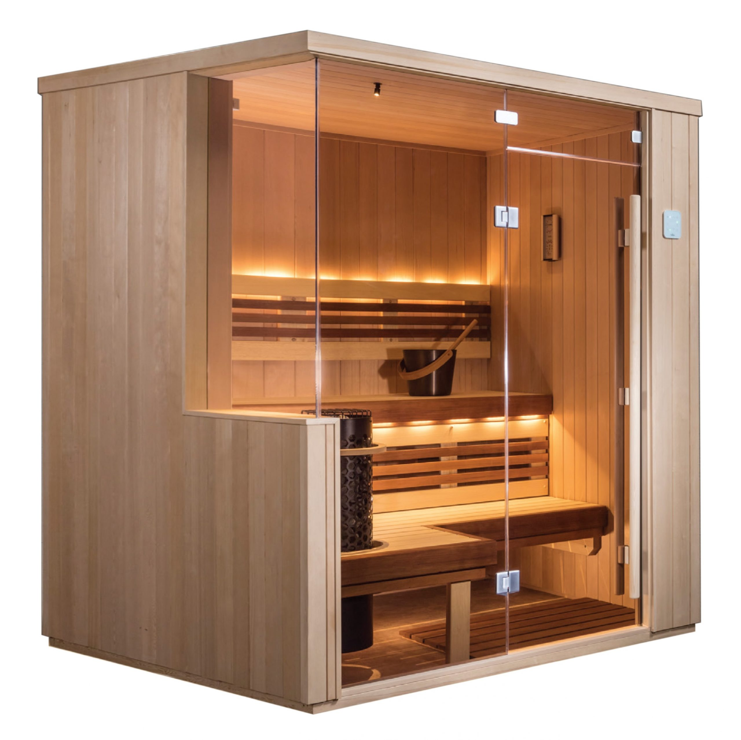 If you're a sauna lover, this sauna is for you!