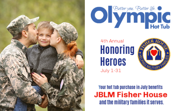 "OLYMPIC HOT TUB CELEBRATES 4TH ANNUAL ""HONORING  HEROES "" EVENT"