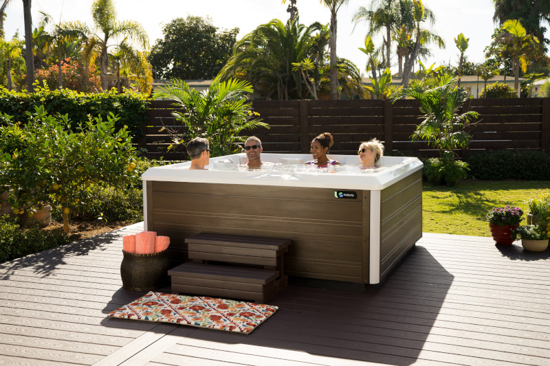 Five things to know when you plan your hot tub space