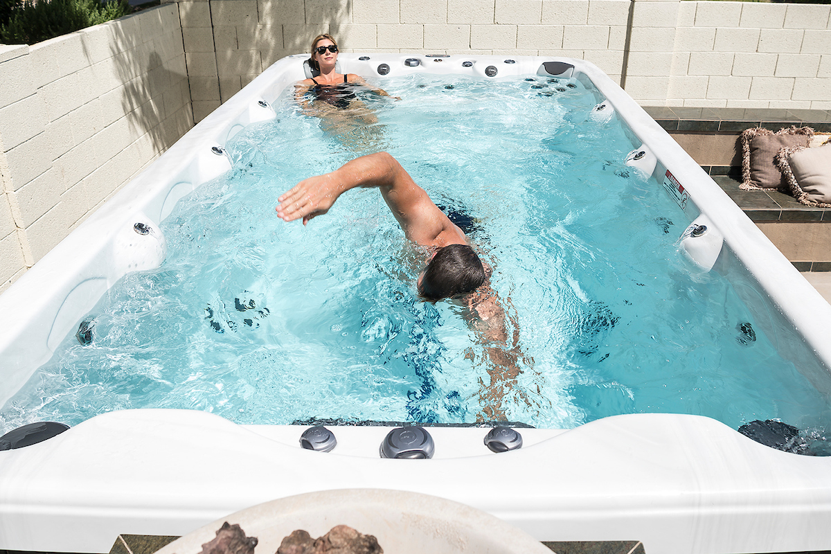 Want to swim every day at home? A swim spa could be the answer