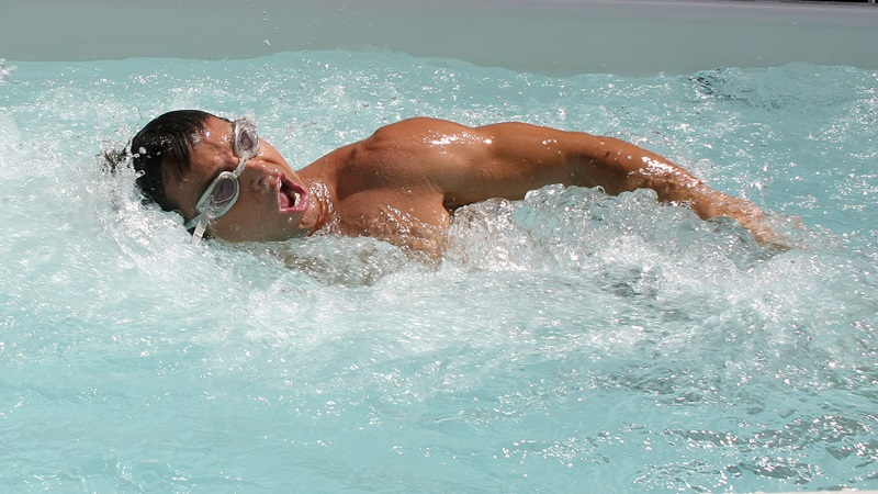 Swimming at home every day can do wonders for you